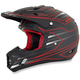 Red FX-17 Mainline Helmet
