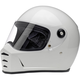 Gloss White Lane Splitter Helmet