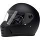 Flat Black Lane Splitter Helmet
