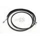 Black Coated Stainless Steel Hydraulic Clutch Lines (Std.) - 0661-0022