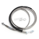 Clear Coated Stainless Steel Hydraulic Clutch Line (+6