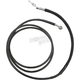 Black Coated Stainless Steel Hydraulic Clutch Lines (Std.) - 0661-0036