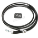 Black Coated Stainless Steel Hydraulic Clutch Lines (+6