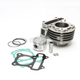 72cc Cylinder Kit for QMB139 and GY6 engines - 1100-1247