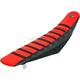 Black/Red/Black Pro Rib Kevlar Seat Cover - 15506