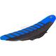 Black/Blue/Black Pro Rib Kevlar Seat Cover - 35508