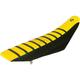 Black/Yellow/Black Pro Rib Kevlar Seat Cover - 45506