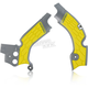 Gray/Yellow X-Grip Frame Guards - 2630531120
