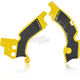 Yellow/Black X-Grip Frame Guards - 2630531017