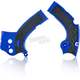 Blue/Black X-Grip Frame Guards - 2640271034