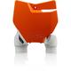 2016 Orange/White Raptor Front Number Plate - 2527425321