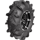 Right Front/Rear Mud Evil 32x10-14 Tire/White Kit - 4040-11R