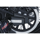 Gloss Black Rear Axle Caps - 7487