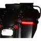 HD Bagz Black Saddlebag Lights w/Red Lens for H-D CVO Models w/OE Saddlebags - CS-SB-SS8-BR
