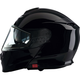 Black Solaris Modular Snow Helmet