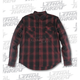 Rust Built for Speed Plaid Long Sleeve Shirt