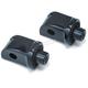 Gloss Black Peg Rear Adapter Mount - 8867