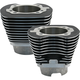 Wrinkle Black 4 1/8 in. Bore Cylinder Set for Hot Set Up Kits - 910-0401