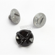 Silver Visor Screws for FG-MX Helmets - 358-101