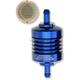 Blue 5/16 in. Peak Flow Mini Fuel Filter - 60-312C-BLUE