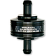 Black 1/4 in.  Peak Flow Super Mini Fuel Filter - 70-250G-BLACK