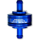 Blue 1/4 in. Peak Flow Super Mini Fuel Filter - 70-250G-BLUE