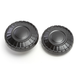 Satin Black Aztec Fuel Caps - 7388