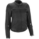 Women's Black Aira Mesh Jacket