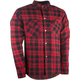 Black/Red Marksman Riding Flannel Shirt