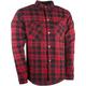Black/Red Marksman Riding Flannel Shirt