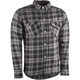 Black/Gray Marksman Riding Flannel Shirt