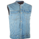 Blue Club Collar Iron Sights Denim V