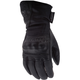 Women's Black Rose Cold Weather Gloves