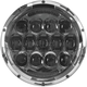 Chrome 7 in. Urban LED Headlight - ABIG7-A6KC
