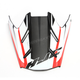 Semi-Flat White/Black/Red Visor for HJC FG-MX Axis MC-5SF Helmets - 360-759