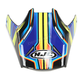 Blue/Green Visor for HJC FG-MX Piston MC-2 Helmets - 362-929