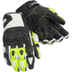 White/HiViz Impulse ST Gloves
