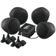 Black 1000-Watt Bluetooth 3 in. Speaker Kit - MCBK470B