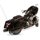 Black El Dorado-MK45 Muffler/Header Package w/Thruster End Caps - 550-0679A