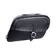 Large Studded Streetbag Kickback Saddlebags - 22-1061