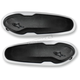 Replacement Black/White Toe Sliders for SMX-Plus Boots - 25SLI15-21