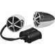 Chrome 800-Watt Bluetooth 3 in. Speaker Kit - MC600B