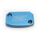 Blue Front Brake Reservoir Cover - 5801B