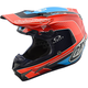 Orange/Blue Squadra Team SE4 Carbon Helmet