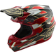 Black/Red Maze SE4 Carbon Helmet