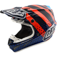 Navy/Orange Streamline SE4 Carbon Helmet