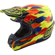 Yellow/Blue Maze SE4 Composite Helmet