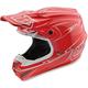 Red Pinstripe SE4 Helmet