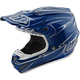 Blue Pinstripe SE4 Helmet