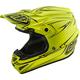 Yellow Pinstripe SE4 Helmet